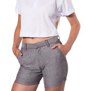 American Apparel | Chambray Short Welt Pocket Grey